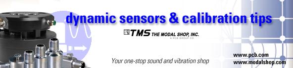 Dynamic Sensors & Calibration Tips Newsletter Banner