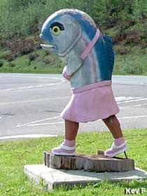Fish legs