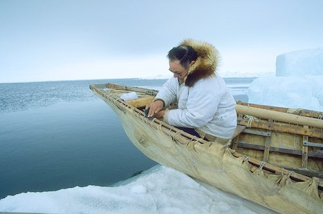 AK Whaling Boat