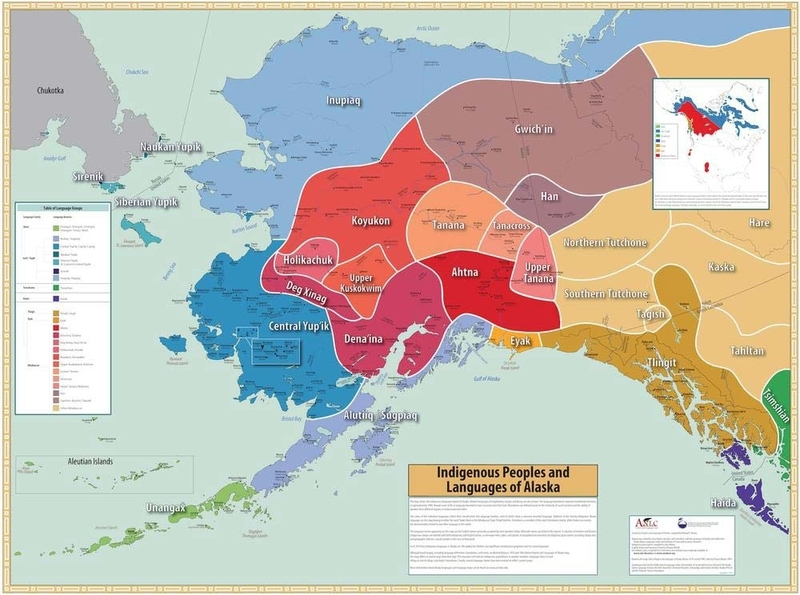 Alaska Native Language Map