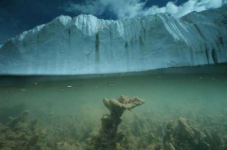 Ice - Melting Glacier
