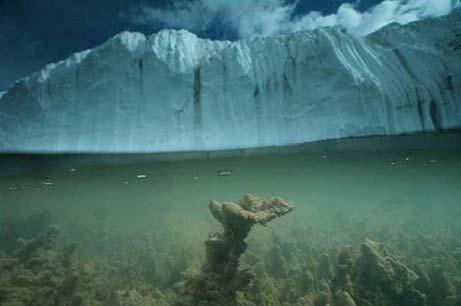 Ice - Melting Glacier