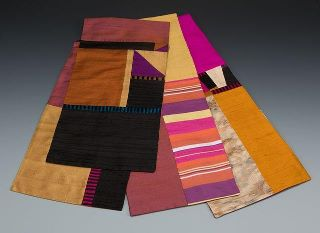 A Sample of Carol Harris' Scarves