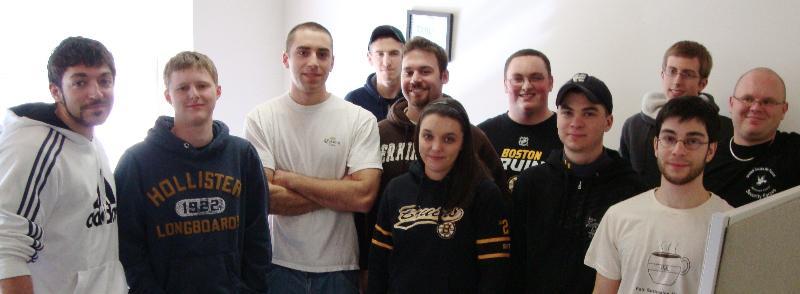 Umass Students at January Training2010