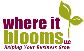 Where It Blooms logo