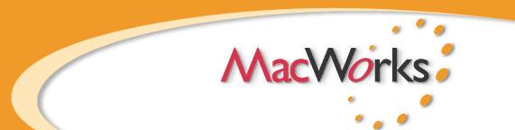 MacWorks logo