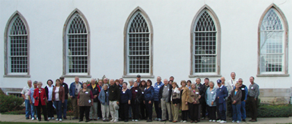 Oct Tour Group, Kirtland Temple