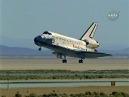 columbia shuttle landing