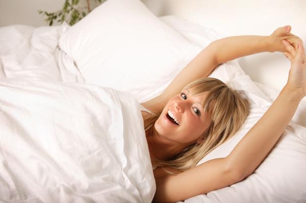 waking up feeling rested