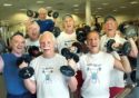 Happy ppl with weights