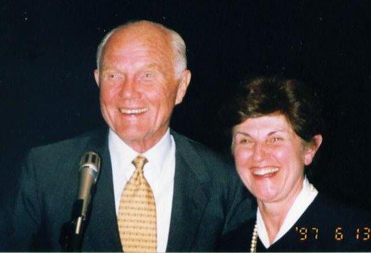 JV & John Glenn