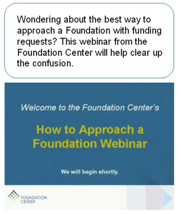 Approach a Foundation