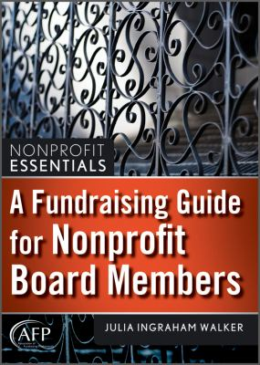 Fundraising guide for nonprofit board members book cover
