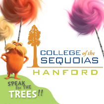 COS Hanford Logo in Lorax