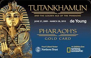 pharoahs gold card