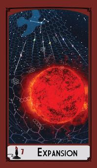 Wands image of tarot deck