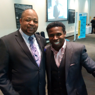 Selwyn with Michael Pinball Clemons
