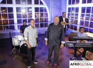 Deval _ the band usher in Chef Selwyn