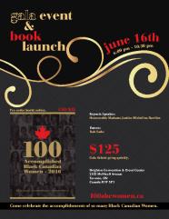 100 Black Canadian Women 2016 flyer