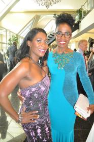 100ABC women Marsha Brown and Pauline Christian