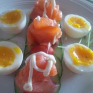 breakfast fish eggs