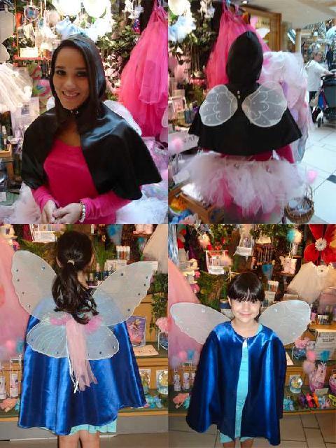 composite fairy capes