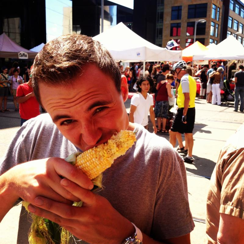 sweet corn Mill City
