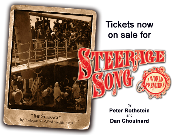 Steerage Song Tickets on Sale Now