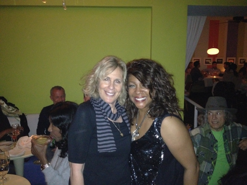 Mary Wilson & Margie Haber