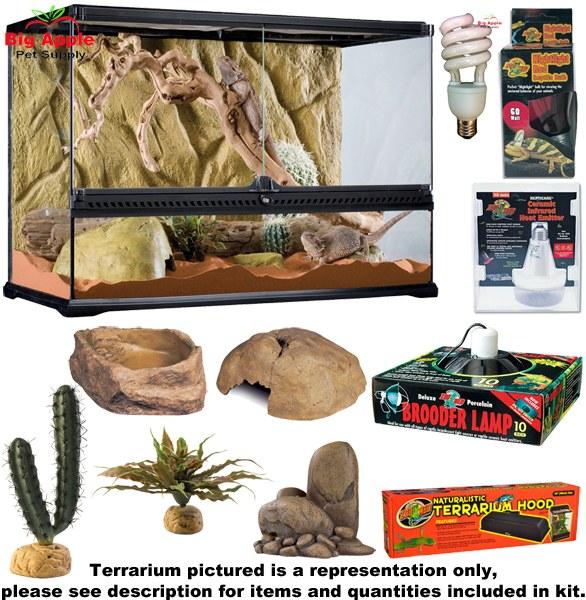 Eight New Reptile Kits Plus 15 Coupon