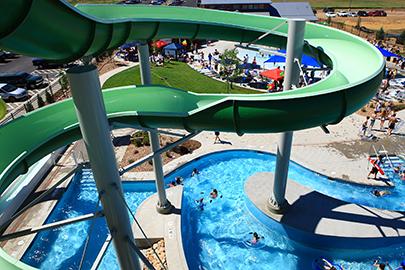 Brighton Oasis Family Aquatic Park Exceeds Expectations