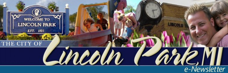 City of Lincoln Park e-Newsletter