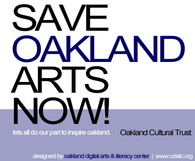 Save Oakland Arts Now