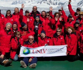 Antarctic group photo
