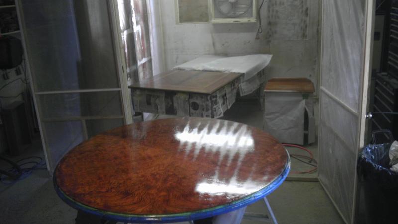 Table repair, restoration & refinishing