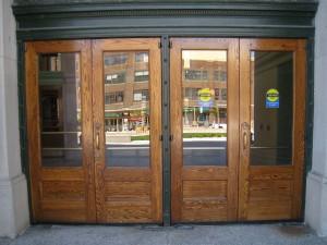 Union Depot doors AFTER