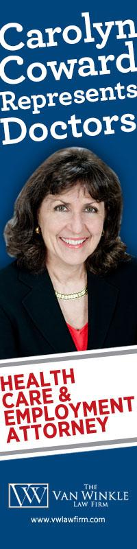 Carolyn Coward represents doctors