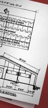 kennel blueprints