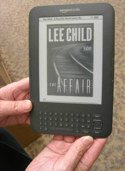 Kindle at Oshkosh Public Library