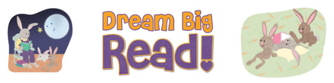 Dream Big Summer Reading Program Clipart