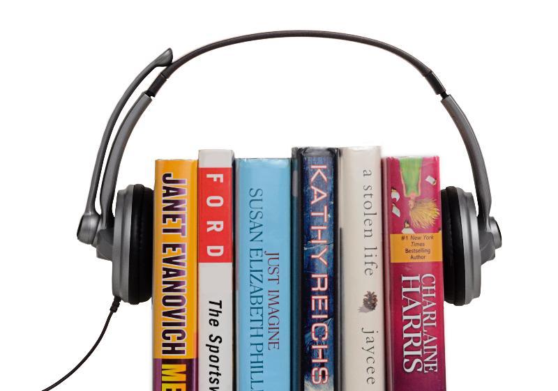 books wheadphones