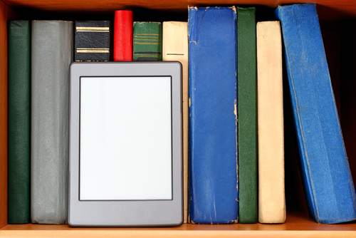 e-readers and books