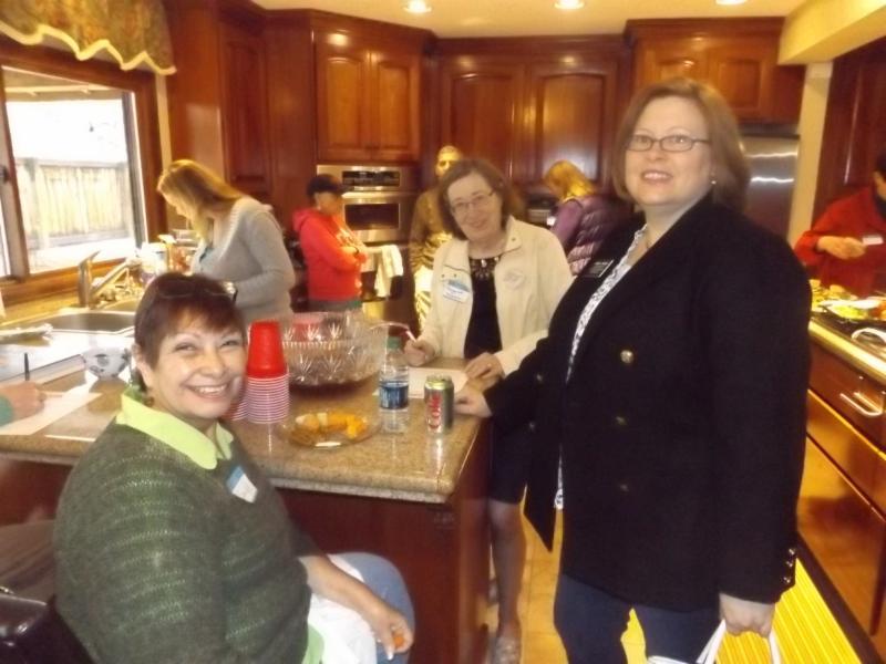Sandy Baca, Margaret Chapman, Cheryl Cheney