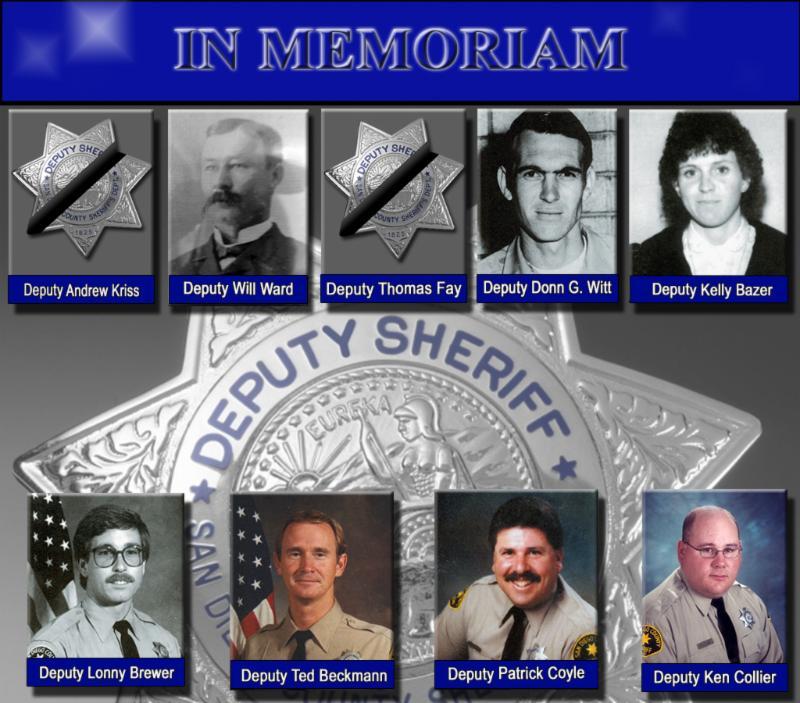 Remembering Fallen Deputies