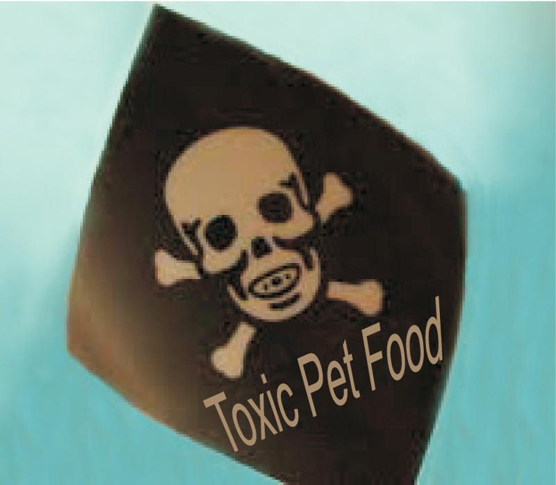 toxic pet food warning