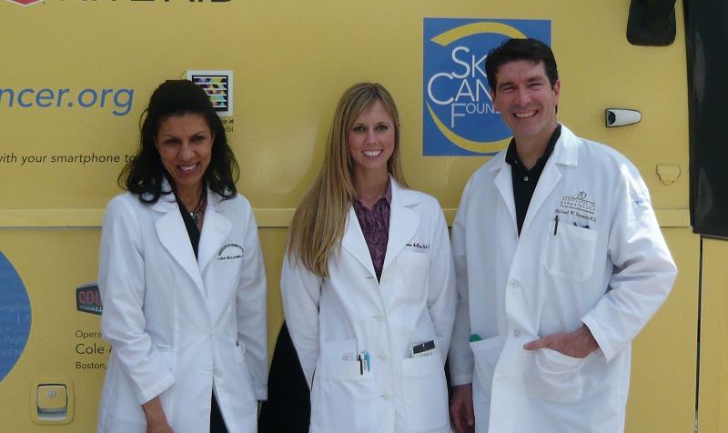 Dr. Williams, Stephanie McPherson, PA & Dr. Steppie