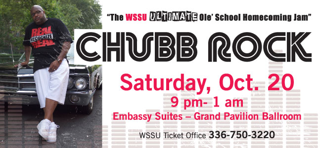 Homecoming Chubb Rock Party