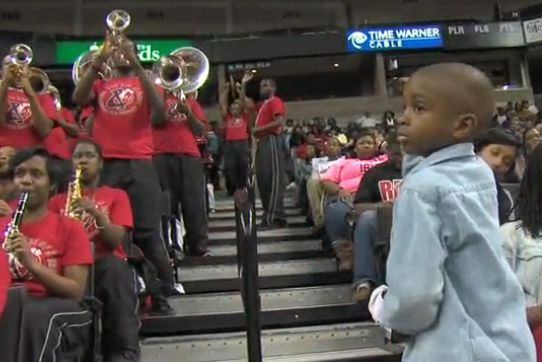 WSSU's Little Drum Major