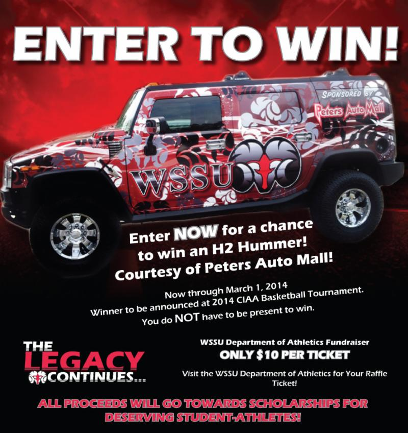 Enter to win a hummer