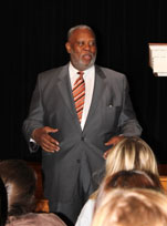 Nigel Alston Speaks at Salem Academy